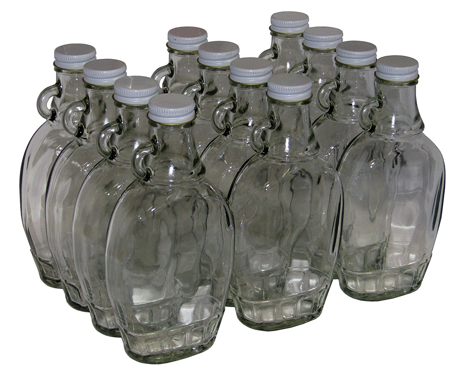 Nms 8 Ounce Glass Maple Syrup Bottles With Loop Handle